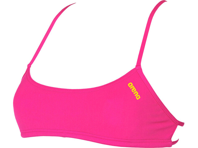 arena Play Bandeau Top Women fresia rose-yellow star